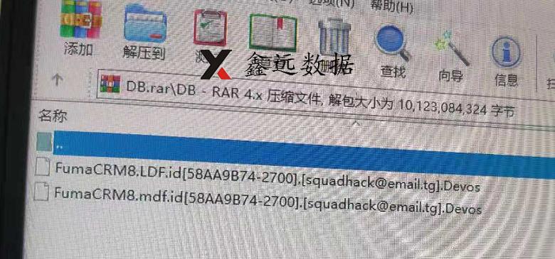 《太原鑫远数据恢复中心—台州某出口贸易企业中勒索病毒.devos数据恢复成功》