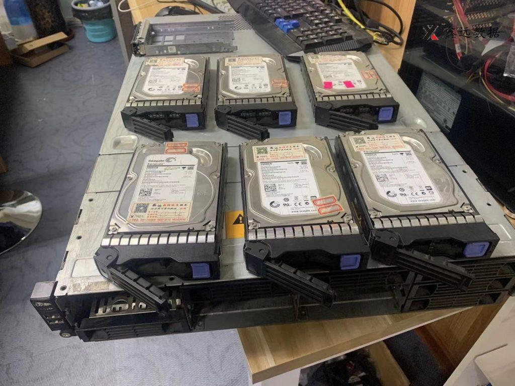 《山西吕梁某公司联想万全服务器R520,RAID5数据恢复成功》